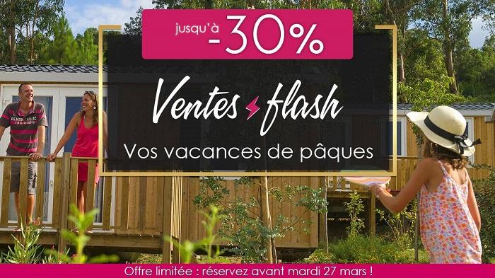 Camping pas Cher Homair - Ventes Flash Vacances de Pâques jusqu'à -30%