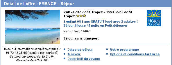 Hôtel Soleil de St Tropez