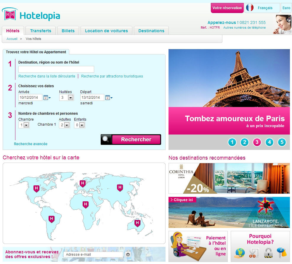 Hotelopia Hotel pas cher