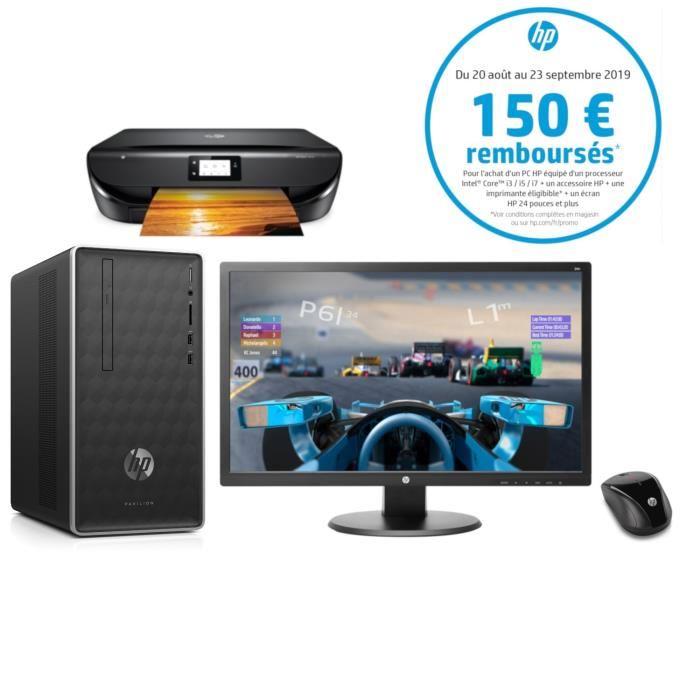 HP PC Gamer Pavilion 590-p0139nf + Imprimante + Ecran + Souris