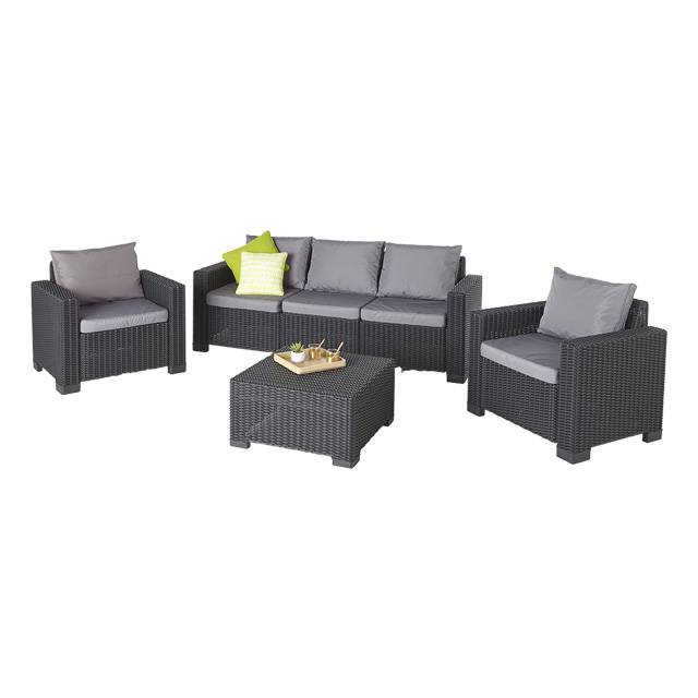 salon de jardin rotin synth tique california salon de jardin castorama ventes pas. Black Bedroom Furniture Sets. Home Design Ideas