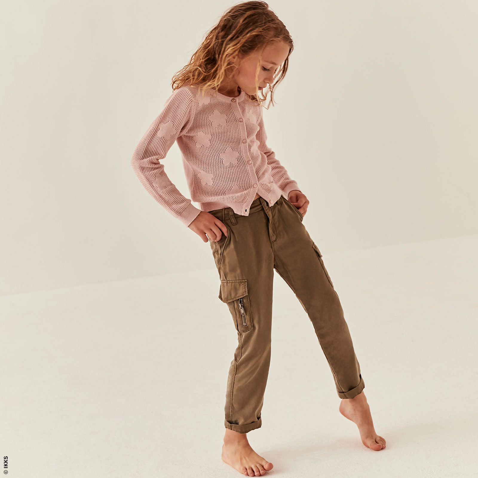 Pantalon fluide girl regular fit Ikks - Melijoe