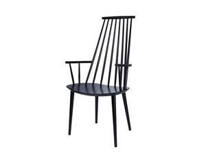 Fauteuil made in design j110 chair noir fauteuil hay poul m volther v - Fauteuil made in design ...