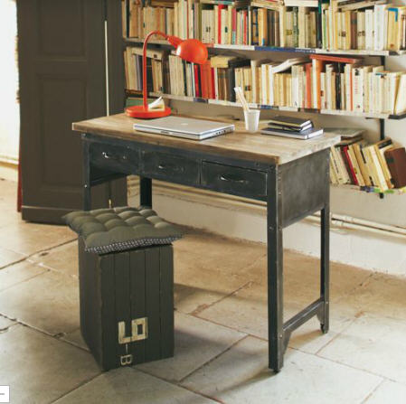 bureau alinea bureau industriel jackson prix ventes pas. Black Bedroom Furniture Sets. Home Design Ideas