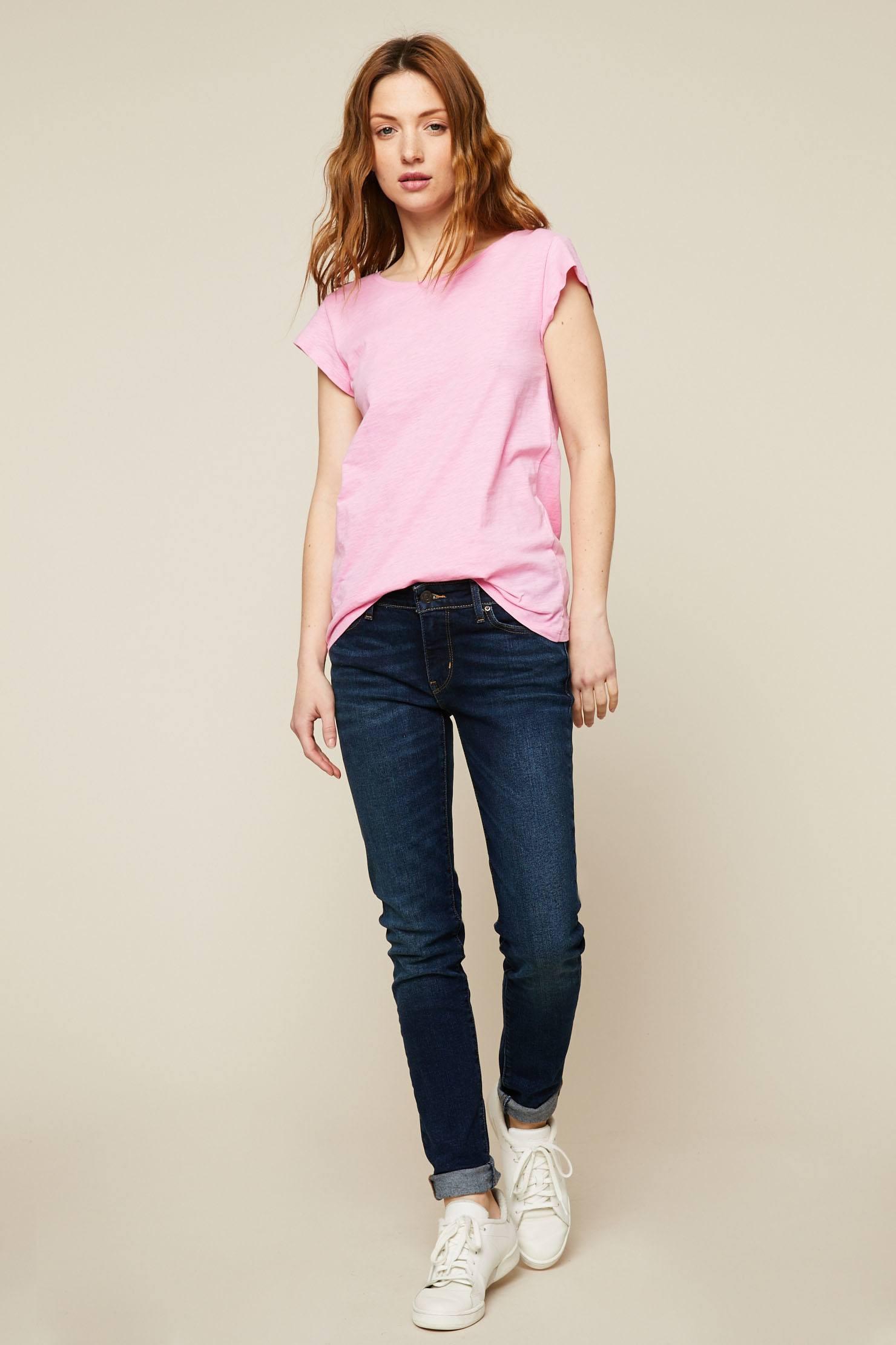 Foncé Femme Levi's Bleu Skinny Jeans Jean Monshowroom 711 7gv6Ybyf