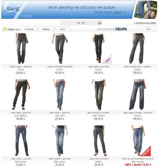 Jeans Promod