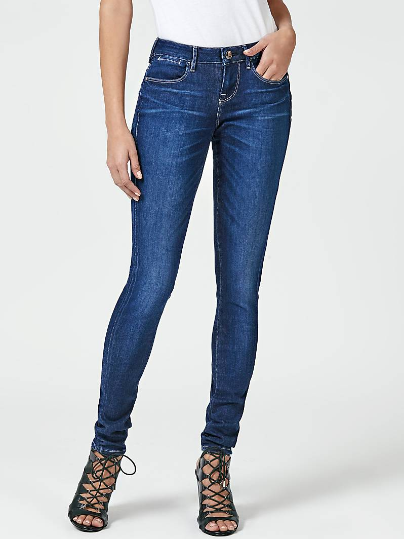 JEGGING SKINNY TAILLE BASSE Guess Jeans Femme Guess