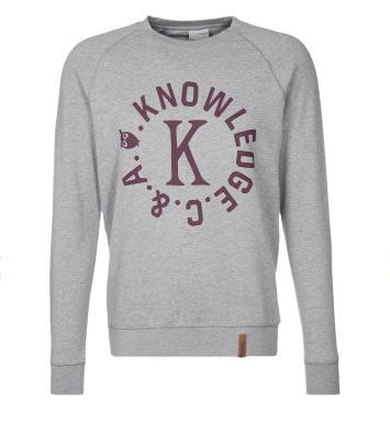 Knowledge Cotton Apparel Sweatshirt gris - Sweatshirt Homme Zalando