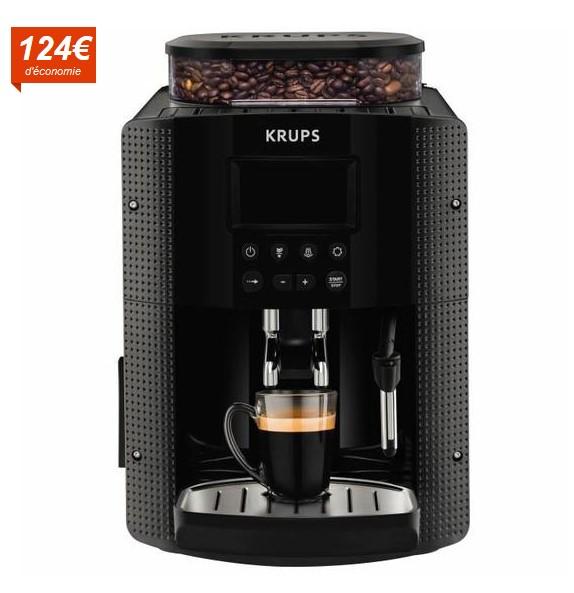 KRUPS YY8135FD Machine expresso automatique avec broyeur - Cdiscount
