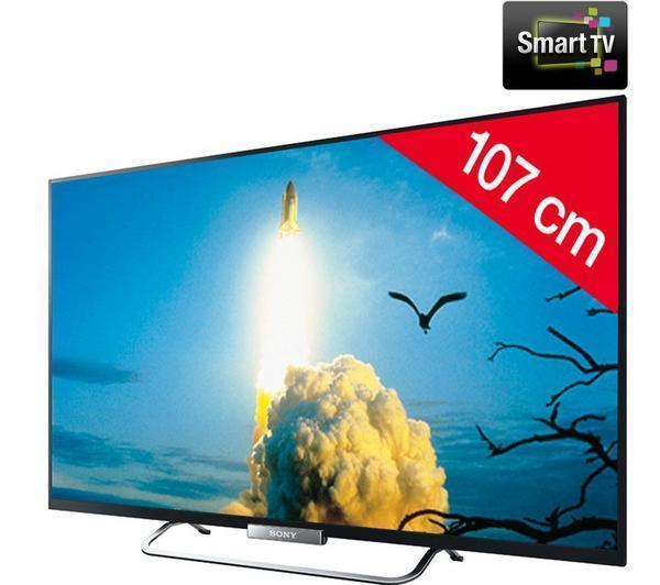 sony kdl 42w650a t l viseur led smart tv tv led pas cher pixmania ventes pas. Black Bedroom Furniture Sets. Home Design Ideas
