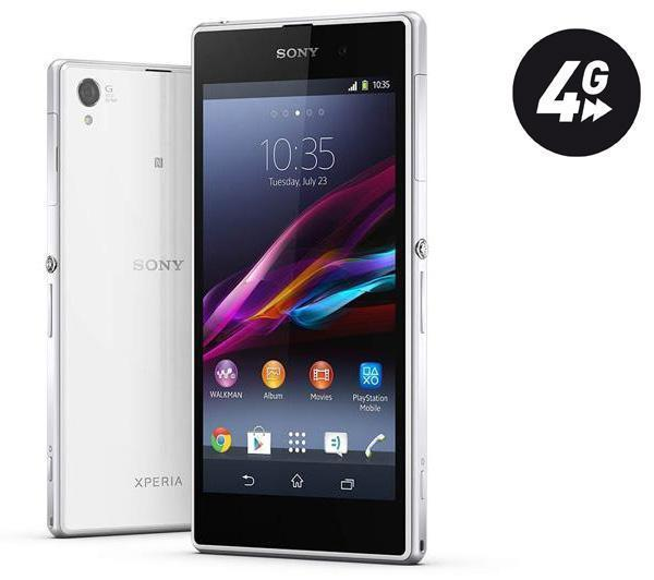 sony xperia z1 blanc smartphone pas cher pixmania ventes pas. Black Bedroom Furniture Sets. Home Design Ideas