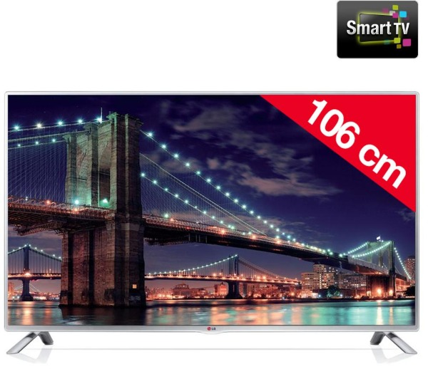 lg 42lb5700 t l viseur led smart tv tv led pas cher pixmania ventes pas. Black Bedroom Furniture Sets. Home Design Ideas