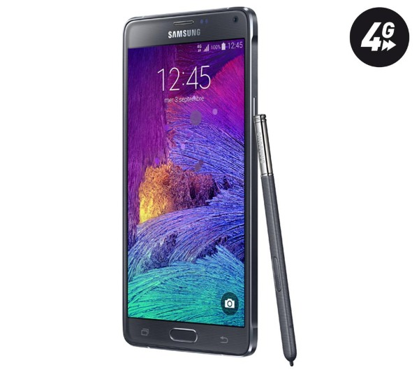samsung sm n910f galaxy note 4 smartphone pas cher pixmania ventes pas. Black Bedroom Furniture Sets. Home Design Ideas