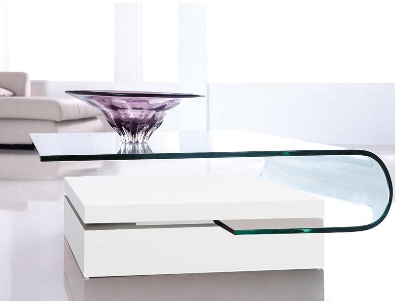 La Maison Du Canape Table Basse Zina Blanc Pas Cher Table Basse