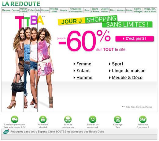 Pr parez les vacances de vos enfants avec la redoute b n ficiez de 60 de - Tout les site de vente en ligne ...