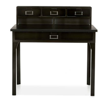 bureau alinea bureau en acier larsen indus secr taire ventes pas. Black Bedroom Furniture Sets. Home Design Ideas