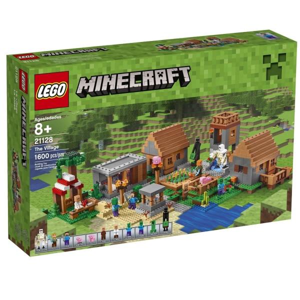 lego 21128 minecraft le village jeux de construction avenue des jeux ventes pas. Black Bedroom Furniture Sets. Home Design Ideas