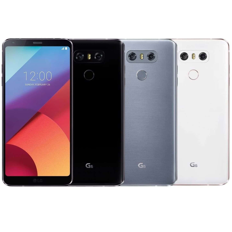 LG G6 Dual SIM 64Go Noir