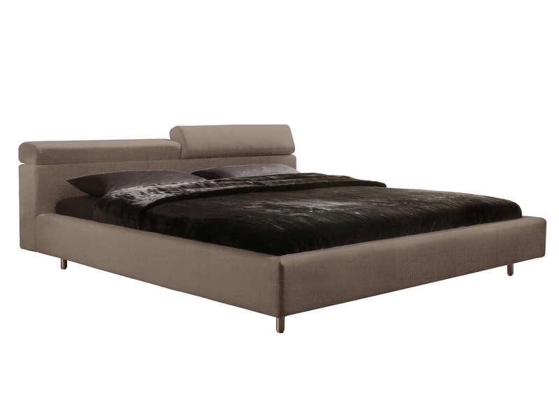 Lit chambre design marron byzance achatdesign lit for Achat design