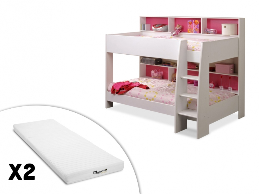 lits superpos s lenny lit enfant pas cher vente unique ventes pas. Black Bedroom Furniture Sets. Home Design Ideas