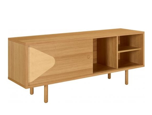 Losange Buffet Chêne Habitat Design by Guillaume Delvigne