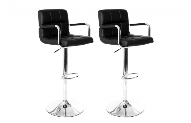 tabouret de bar miliboo lot de 2 tabourets de bar design. Black Bedroom Furniture Sets. Home Design Ideas