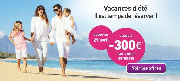 MAEVA Jusqu'à -300 € sur vos Vacances d'été