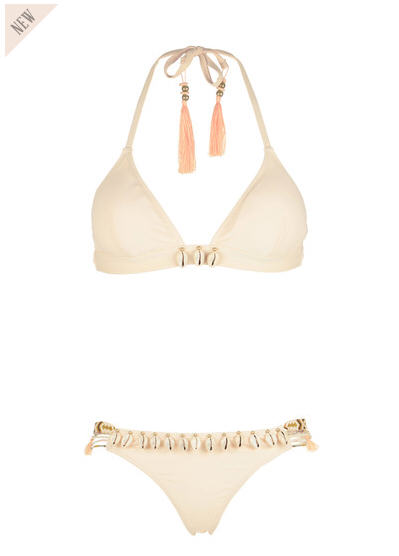 Maillot de bain 2 pièces coquillages Beauty Nude Hipanema for Amenapih, Maillot de Bain Monshowroom