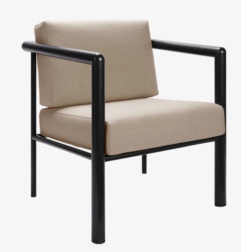 Mallet stevens fauteuil en tissu habitat fauteuil habitat ventes pas - Fauteuil taupe pas cher ...