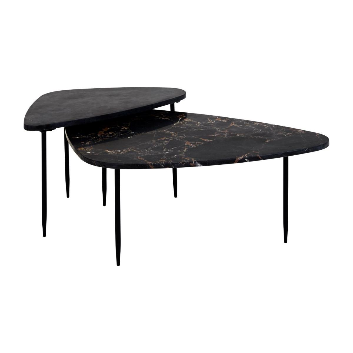 Milla Table basse Noyer Habitat