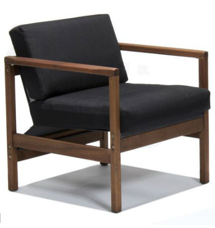 fauteuil de jardin alinea fauteuil de jardin r tro marvin. Black Bedroom Furniture Sets. Home Design Ideas
