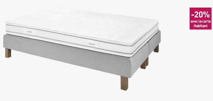 cocoon 360 matelas ressorts m springs 180x200cm habitat matelas habitat ventes pas. Black Bedroom Furniture Sets. Home Design Ideas