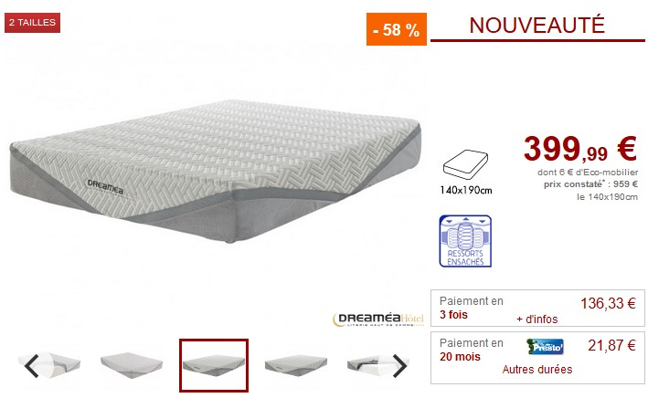 matelas latex 140x190 cm dunlopillo grand casino best belles images de matelas dunlopillo avis. Black Bedroom Furniture Sets. Home Design Ideas