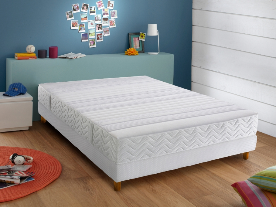 matelas fascine m moire de forme de dunlopillo soldes. Black Bedroom Furniture Sets. Home Design Ideas