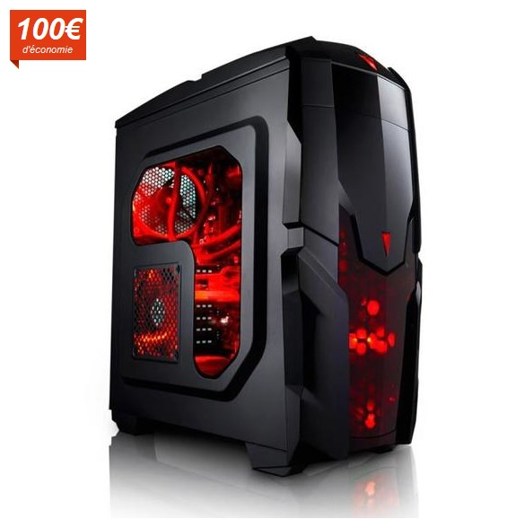 megaport pc gamer 6 core amd fx 6300 6x 3 50 ghz pas cher ordinateur de bureau cdiscount. Black Bedroom Furniture Sets. Home Design Ideas
