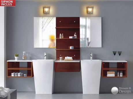 vente flash ensemble de salle de bain aversa vente unique ventes pas. Black Bedroom Furniture Sets. Home Design Ideas