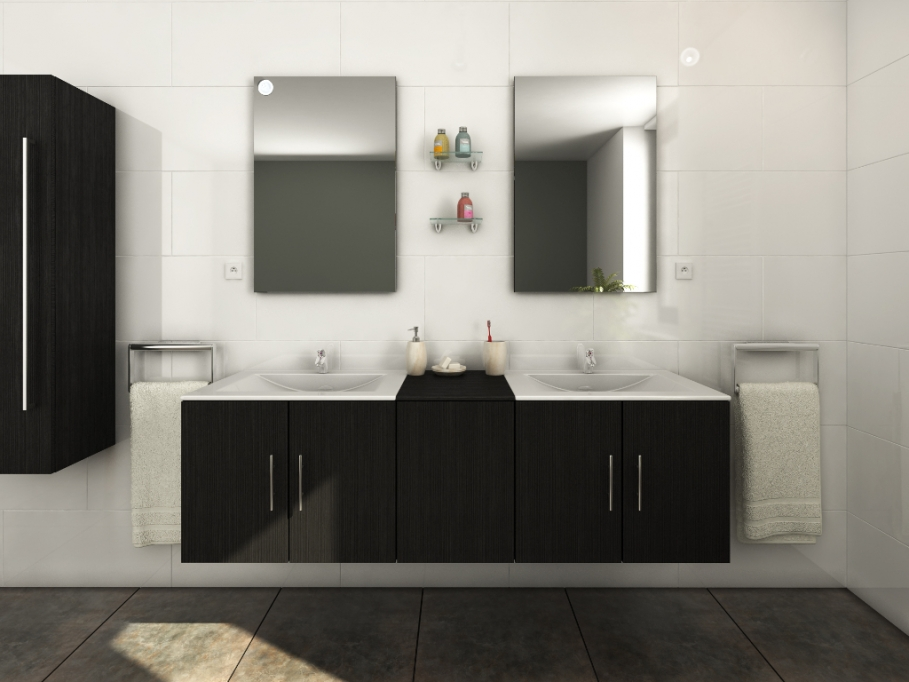 ensemble meuble salle de bain solde salle de bains. Black Bedroom Furniture Sets. Home Design Ideas