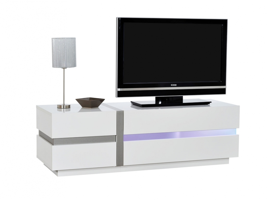 meuble tv dangle blanc laque texas – Artzeincom -> Meuble Tv DAngle Blanc Conforama