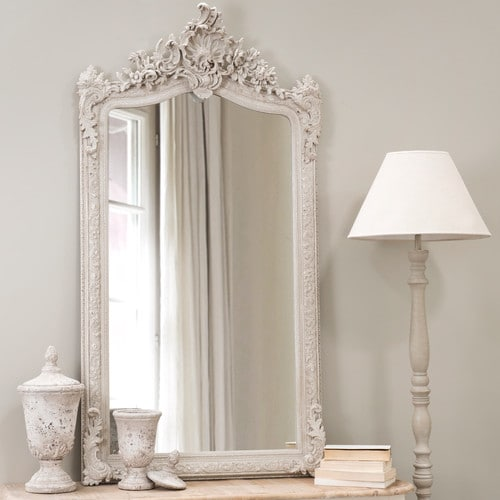 miroir en r sine gris conservatoire miroir maisons du monde ventes pas. Black Bedroom Furniture Sets. Home Design Ideas