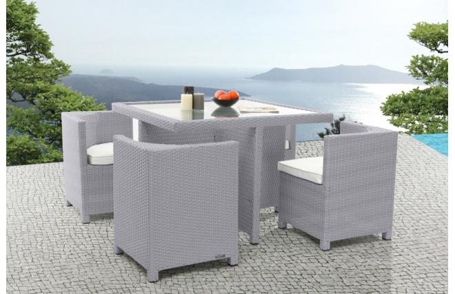 mobilier de jardin grecques salon de jardin miliboo ventes pas. Black Bedroom Furniture Sets. Home Design Ideas