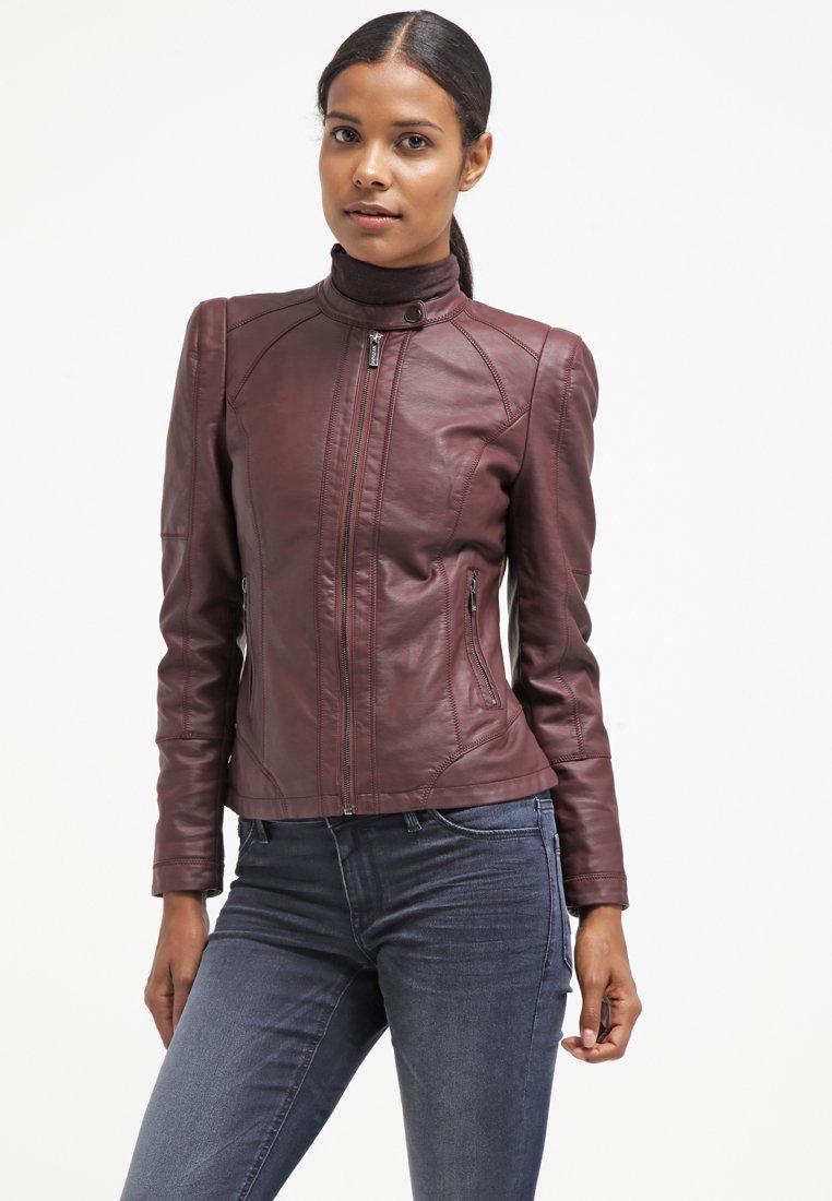 morgan gotala veste en similicuir bordeaux veste femme zalando ventes pas. Black Bedroom Furniture Sets. Home Design Ideas