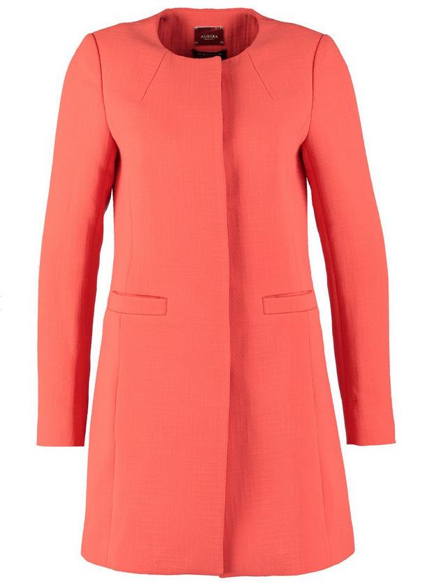 Manteau classique court femme