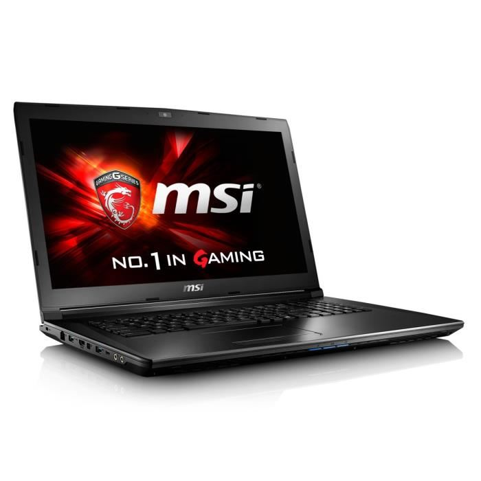 msi pc portable gamer gl72 6qf 450xfr soldes ordinateur. Black Bedroom Furniture Sets. Home Design Ideas