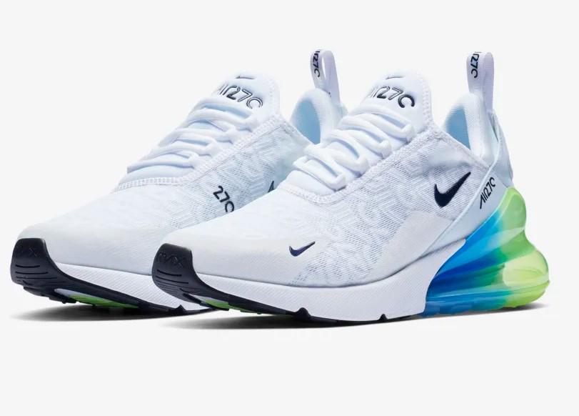 Nike Air Max 270 Se Baskets Basses Blanc pas cher Baskets