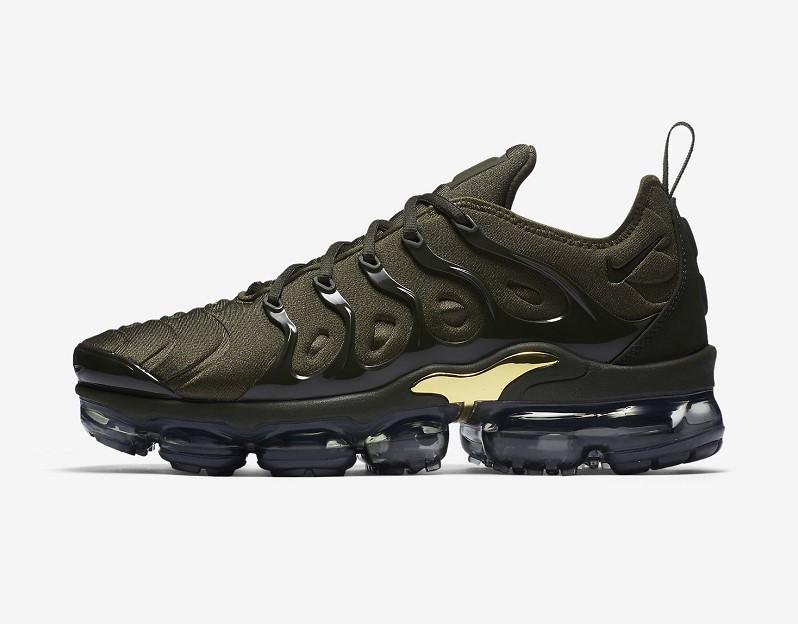 Nike Air VaporMax Plus Kaki cargo/Vert argile/Or métallique/Séquoia pour Homme