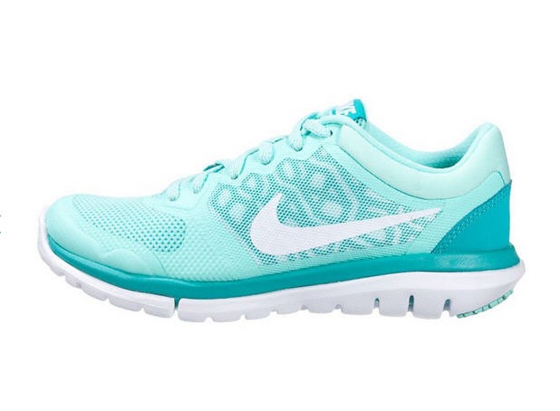 Nike Performance FLEX 2015 RUN Chaussures de running légères artisan teal/white/light retro