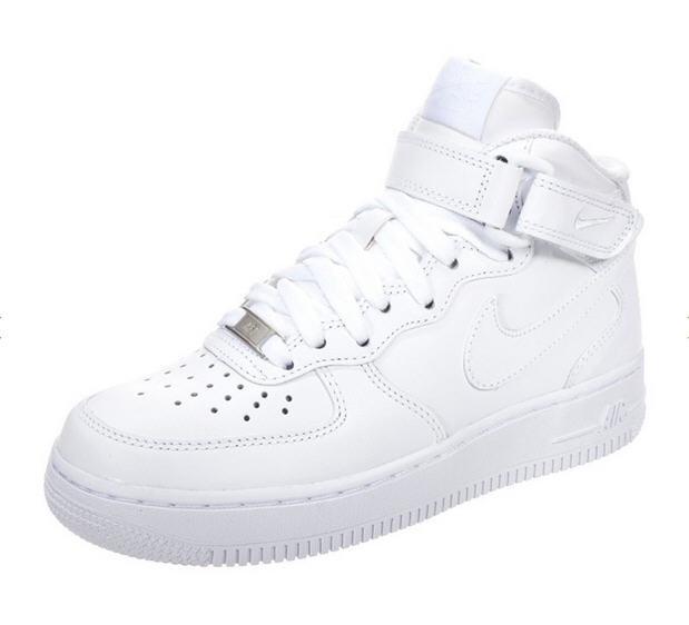 nike sportswear air force 1 39 07 mid baskets montantes white baskets nike femme zalando ventes. Black Bedroom Furniture Sets. Home Design Ideas