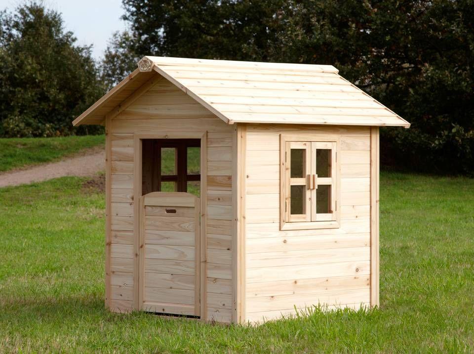 Noa Playhouse Maisonnette pour enfants fenêtres intégrées et bois très résistant  - ManoMano