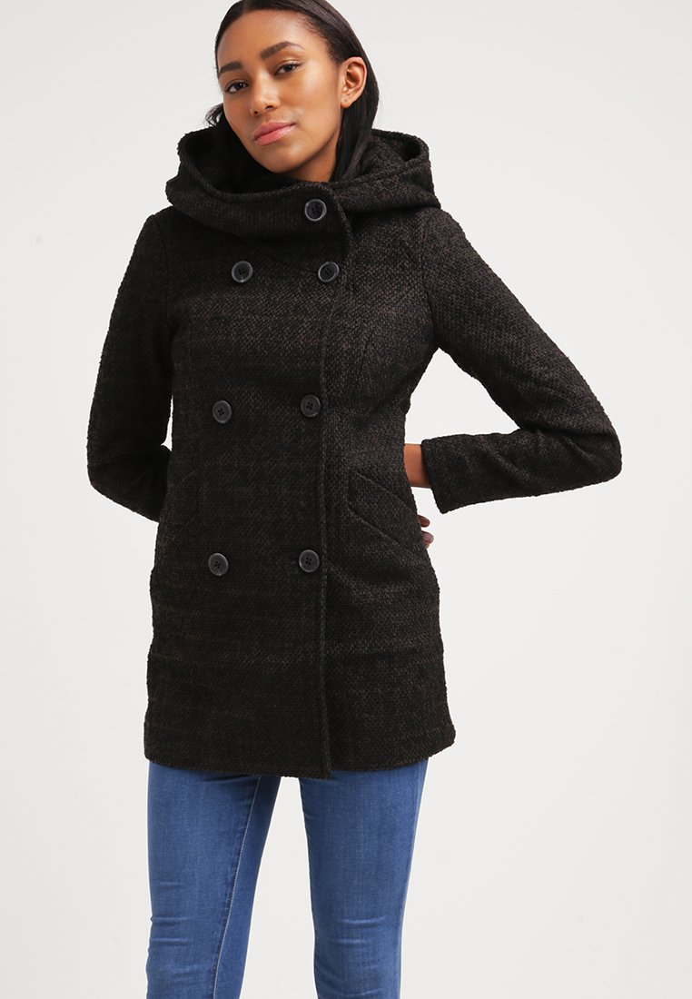 ONLY ONLIDEA Manteau court black olive