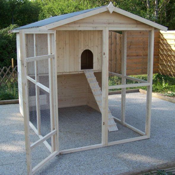 poulailler xxl 6 10 poules pas cher poulailler gamm. Black Bedroom Furniture Sets. Home Design Ideas